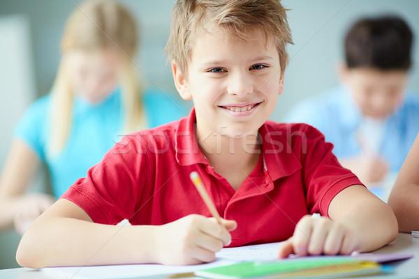 Little learner Stock photo © pressmaster
