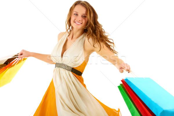 Shopaholic Stock photo © pressmaster