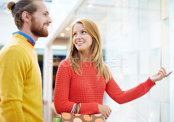 Couple at store Stock photo © pressmaster