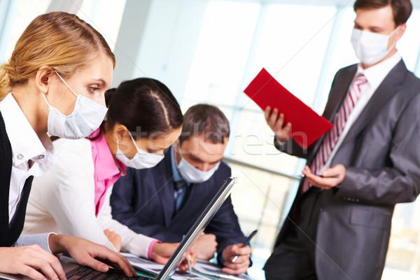 During flu epidemy Stock photo © pressmaster