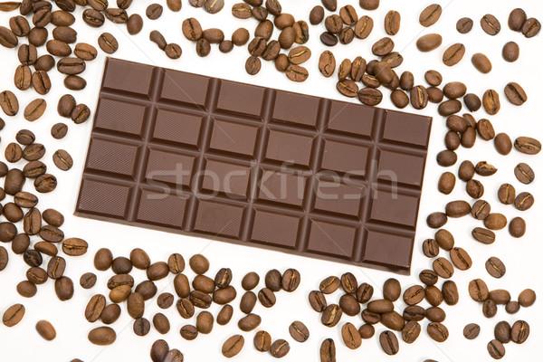 Coffee and chocolate Stock photo © pressmaster