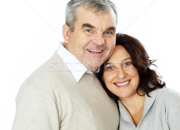 портрет счастливым Постоянный вместе семьи Сток-фото © pressmaster