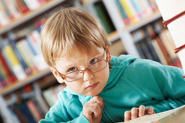 Pensive boy  Stock photo © pressmaster