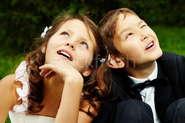 Boy and girl Stock photo © pressmaster