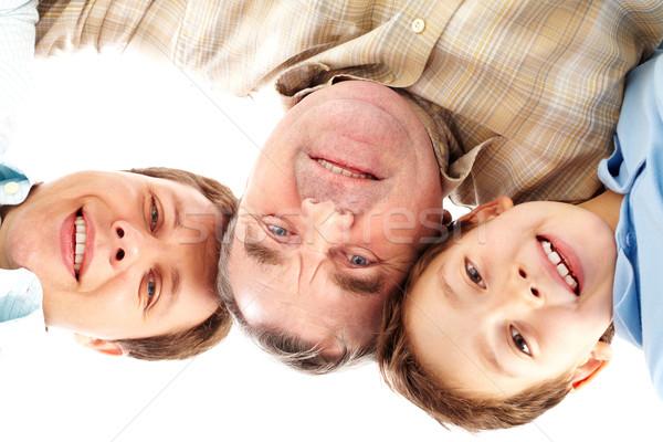 Smiling guys Stock photo © pressmaster