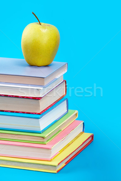Books with apple  Stock photo © pressmaster
