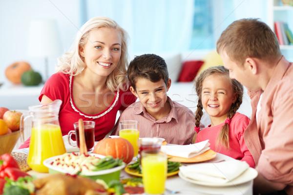Thanksgiving joy Stock photo © pressmaster