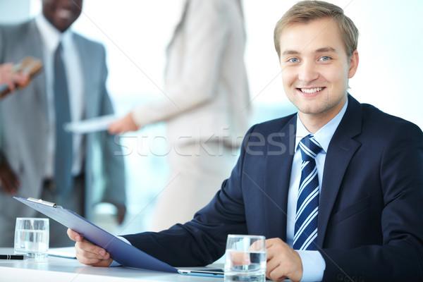 Capo executive ufficiale ritratto elegante boss Foto d'archivio © pressmaster