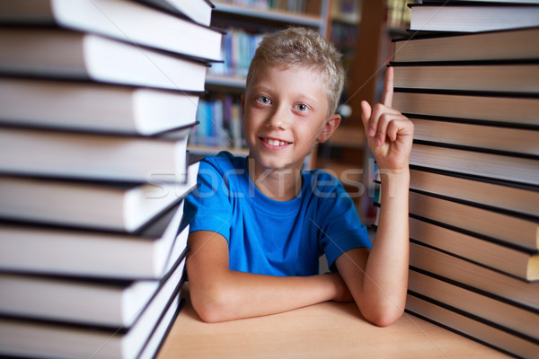 Stock photo: Successful pupil