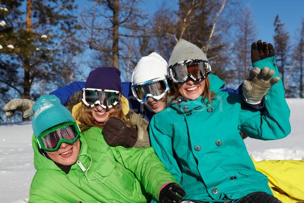 Cheerful friends Stock photo © pressmaster