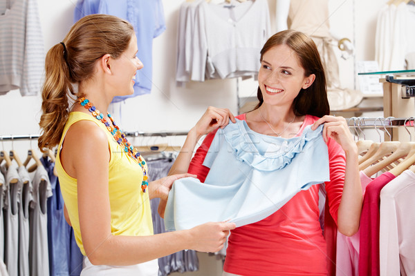 In the clothing department Stock photo © pressmaster