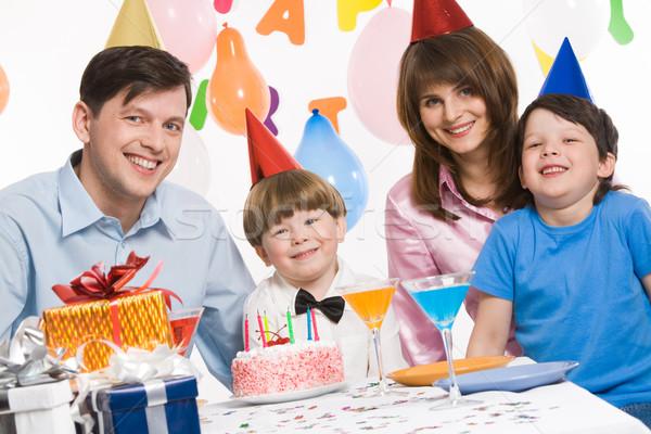 Happy family Stock photo © pressmaster