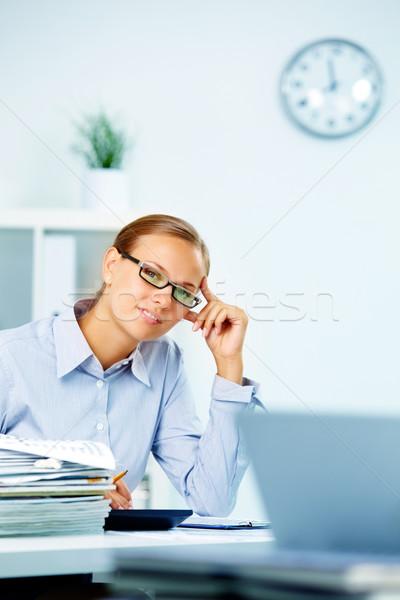 Stock photo: Happy employee