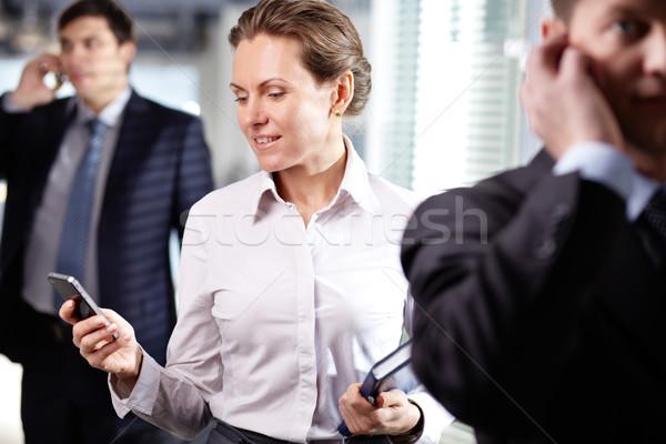 Busy female Stock photo © pressmaster