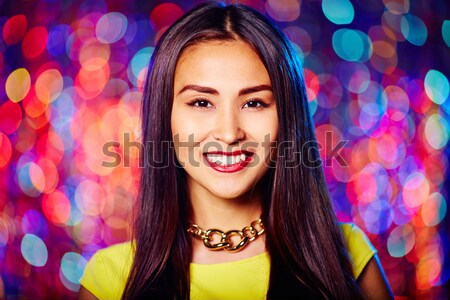 Posh fille vertical portrait femme Photo stock © pressmaster