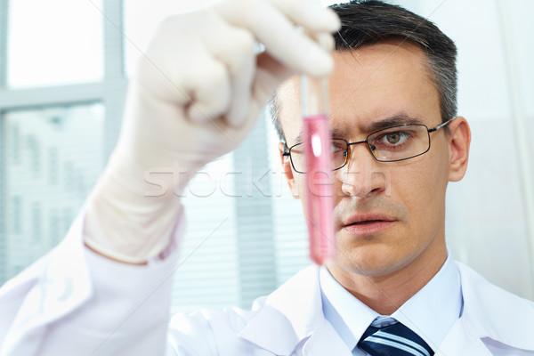 Chemist at work Stock photo © pressmaster