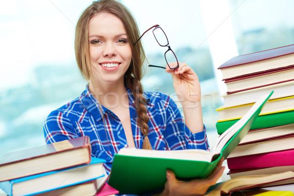 Successful student Stock photo © pressmaster