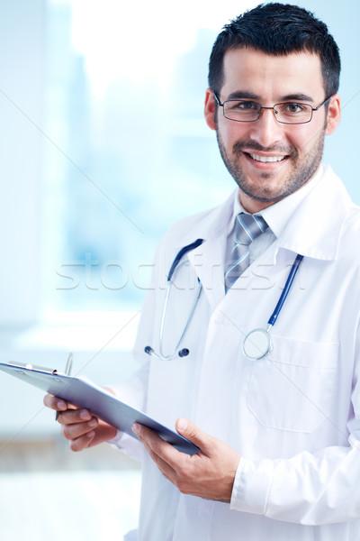 Confident clinician Stock photo © pressmaster