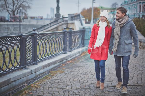 Walking in the city Stock photo © pressmaster