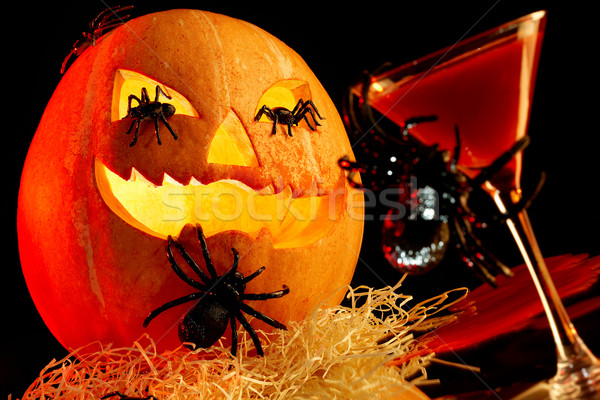 Halloween attributes Stock photo © pressmaster