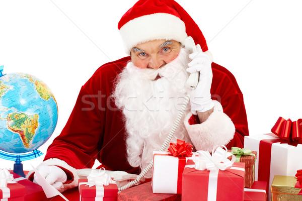 Telephone congrats Stock photo © pressmaster