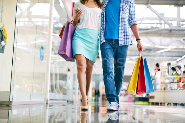 Shoppers walking Stock photo © pressmaster
