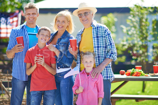 Family on picnic Stock photo © pressmaster