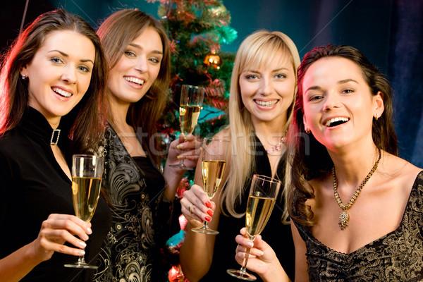 Stock photo: Four women