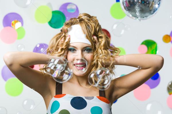 Joyful girl Stock photo © pressmaster