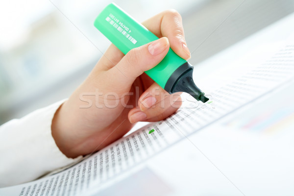 Stock fotó: Csekk · iratok · vízszintes · kép · könyvelő · üzlet