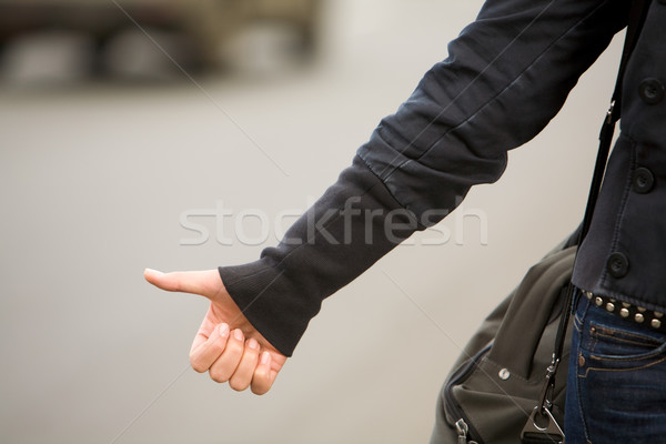 Hitchhiking Stock photo © pressmaster