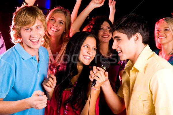 Stock photo: At party
