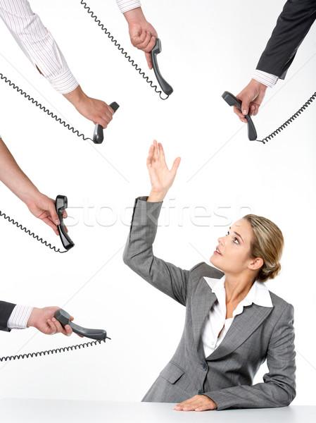 Telephone offers Stock photo © pressmaster