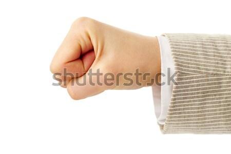 Showing fist  Stock photo © pressmaster