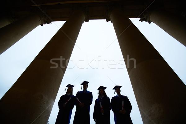 Graduates outlines Stock photo © pressmaster