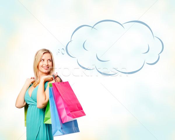 Charming shopper Stock photo © pressmaster