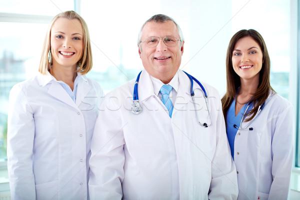 Happy therapeutists Stock photo © pressmaster