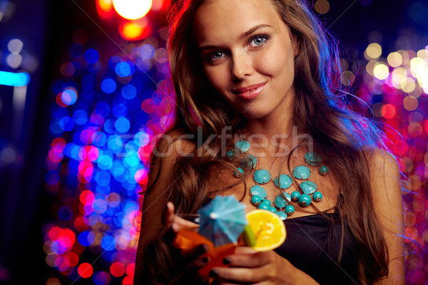 Charming clubber Stock photo © pressmaster