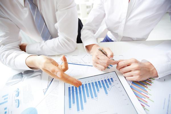 Business review Stock photo © pressmaster