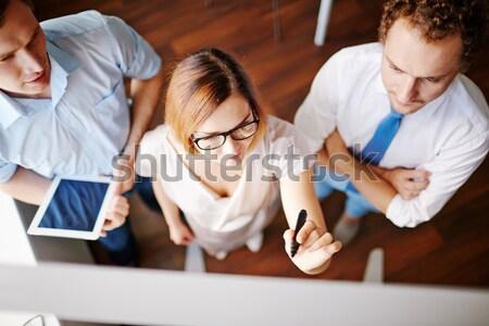 Making corrections  Stock photo © pressmaster