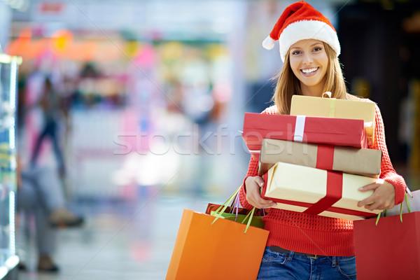 Time for Christmas shopping Stock photo © pressmaster