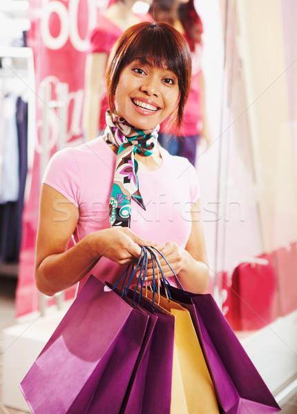 Happy shopper Stock photo © pressmaster