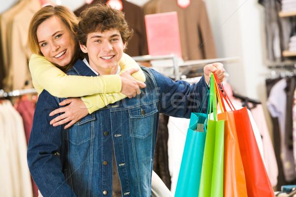 In the mall Stock photo © pressmaster