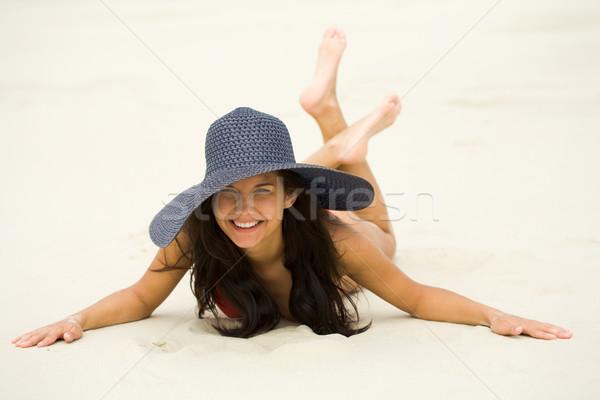 Stock photo: Pretty miss