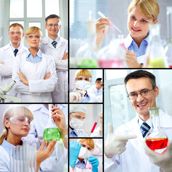 Scientists at work Stock photo © pressmaster