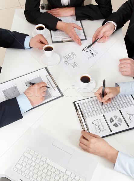 Consultation Stock photo © pressmaster