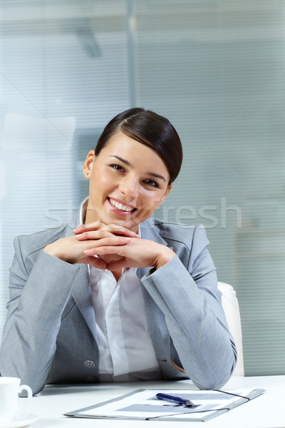 Pretty businesswoman Stock photo © pressmaster