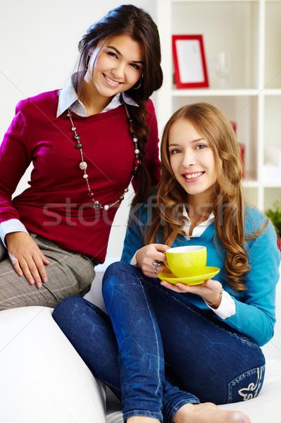 Friendly girls Stock photo © pressmaster