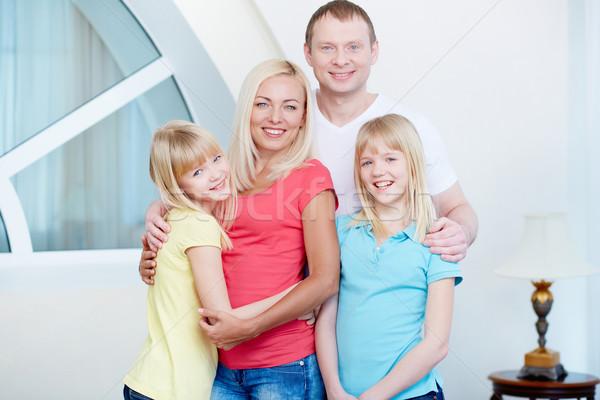 Perfect family Stock photo © pressmaster