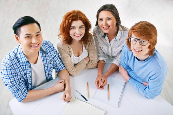 College learners Stock photo © pressmaster